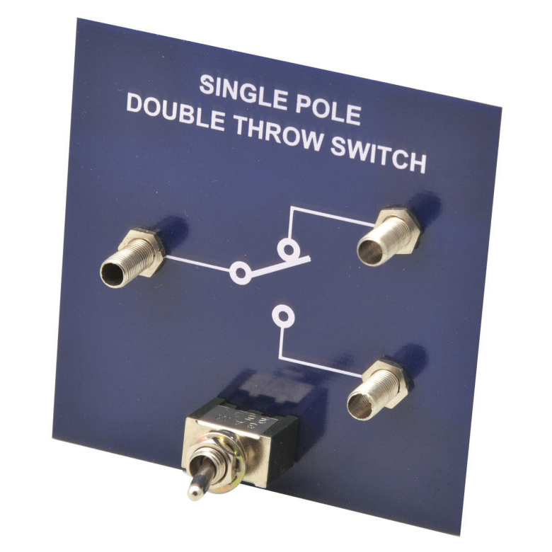 SIMPLE CIRCUIT MODULE SINGLE POLE DOUBLE THROW SWITCH | King Mariot ...